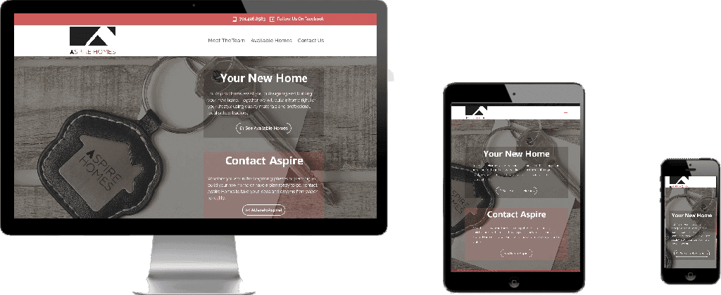 WEBSITE LAUNCH – Aspire Homes #DareToAspire