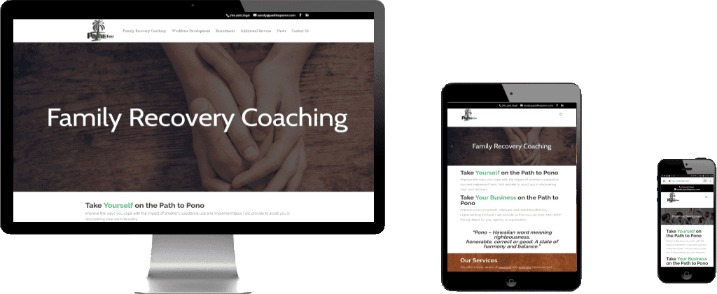 Website Launch – Path To Pono
